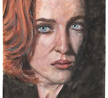 X-Files Agent Scully by outofthedust