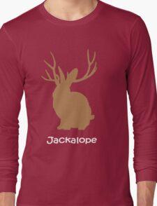 Jackalope funny nerd Long Sleeve T-Shirt