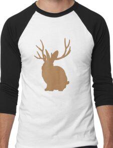 Jackalope funny nerd Men's Baseball ¾ T-Shirt