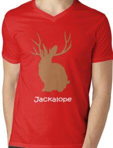 Jackalope funny nerd Mens V-Neck T-Shirt