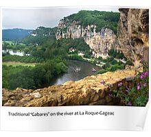 Dordogne - La Roque-Gageac Poster