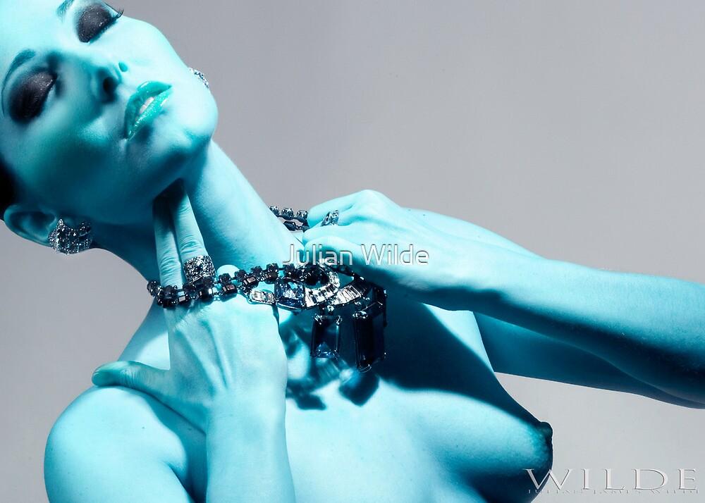 The Green Emerald Necklace by Julian Wilde