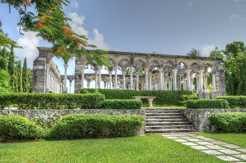The Cloisters in Paradise Island, Nassau, The Bahamas by Jeremy Lavender Photography