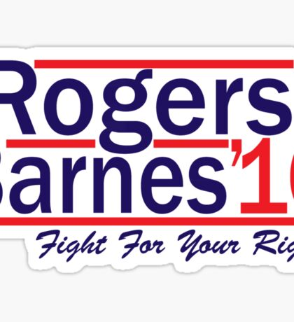 Rogers Barnes '16 Sticker