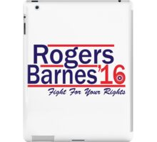 Rogers Barnes '16 iPad Case/Skin