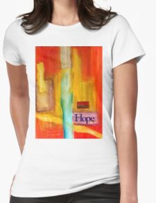 Windows of HOPE Womens Fitted T-Shirt