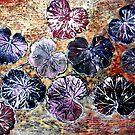 "December's Garden Monoprint 3 by Belinda ""BillyLee"" NYE (Printmaker)"