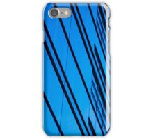 Blue Building in the heart of Berlin iPhone Case/Skin