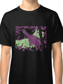 Long Necks - Green and Purple Classic T-Shirt