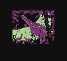 Long Necks - Green and Purple Unisex T-Shirt