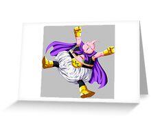 dragon ball z majin buu anime manga shirt Greeting Card
