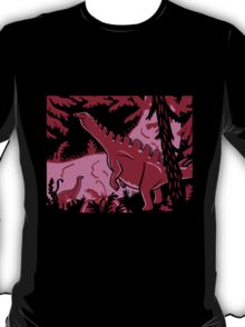 Long Necks - Lavender and Pink T-Shirt