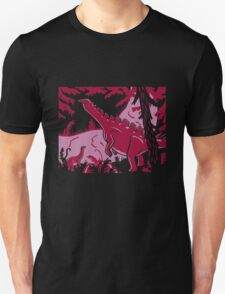 Long Necks - Lavender and Pink Unisex T-Shirt