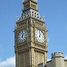 Big Ben in Summer by Katie Vickery