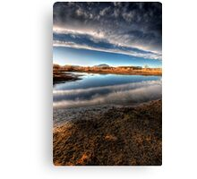 Between Clouds Canvas Print
