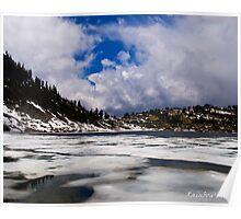 12 december - Rain on the horizon - Rainbow Lake Poster