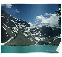 11 november - Upper Joffre Lake and Glaciers beyond Poster