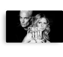 Straight Outta Spuffydale! Canvas Print