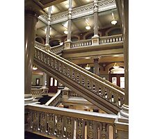 Stairs, Providence City Hall Photographic Print