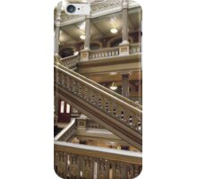 Stairs, Providence City Hall iPhone Case/Skin