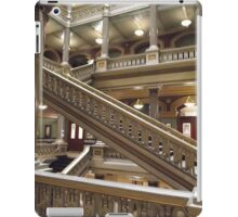 Stairs, Providence City Hall iPad Case/Skin