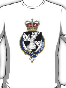 Coat of arms (family crest) for last-name or surname Hopper (England) . Heraldry banner for your name. T-Shirt