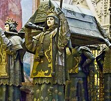 Tomb Of Christopher Columbus by phil decocco