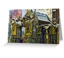 Tomb Of Christopher Columbus Greeting Card