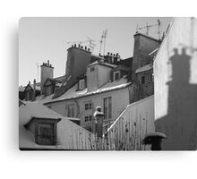 Roofs & chimneys Canvas Print