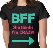 BFF Womens Fitted T-Shirt