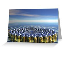 Power Cycle Greeting Card