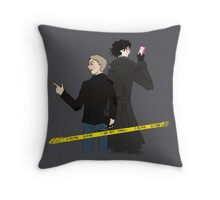 Crime scene Throw Pillow