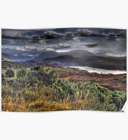 A Scottish Glen Poster
