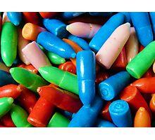 Bubble Gum Bullets Photographic Print