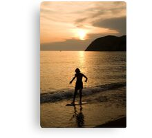 Italian sunsets Canvas Print