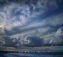 gold coast skyline by carol brandt