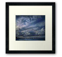 gold coast skyline Framed Print