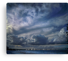 gold coast skyline Canvas Print