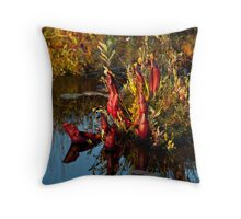 Killarney: Pitcher Plants, Balsam Lake Throw Pillow