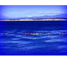 Kayaking in Monterey Photographic Print