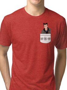 MOON BUN HARRY STYLES Tri-blend T-Shirt