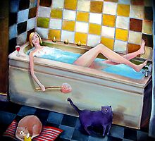 Bathtime by Victoria Stanway