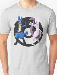 Lucario and Mewtwo T-Shirt