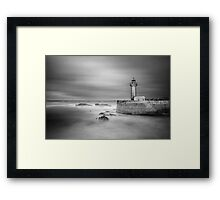 The old lighthouse Framed Print
