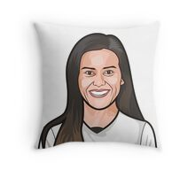 Ali Krieger, USWNT Throw Pillow