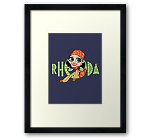 Rhoda Framed Print
