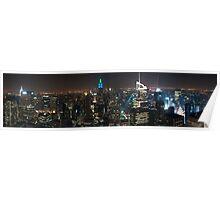 Lower Manhattan Panoramic Poster