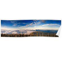 Smokey Mountains Panoramic Poster