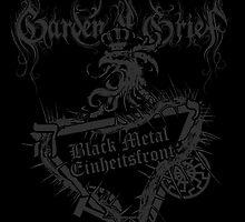Einheitsfront Sigil: Black Metal Einheitsfront & Logo DARK by gardenofgrief