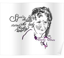 Harriet Beecher Stowe Picture Quote - The Little Lady Poster